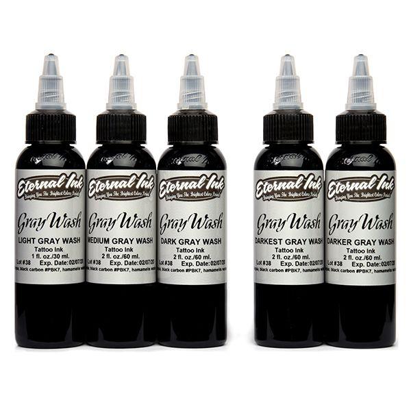 Eternal Ink Gray Wash - 5 Set