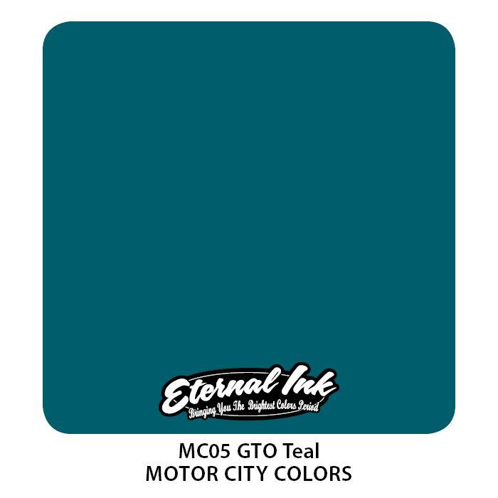 "Eternal ""Motor City"" GTO Teal"