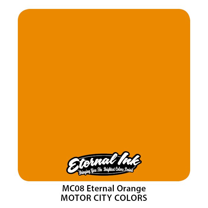 "Eternal ""Motor City""  Orange"
