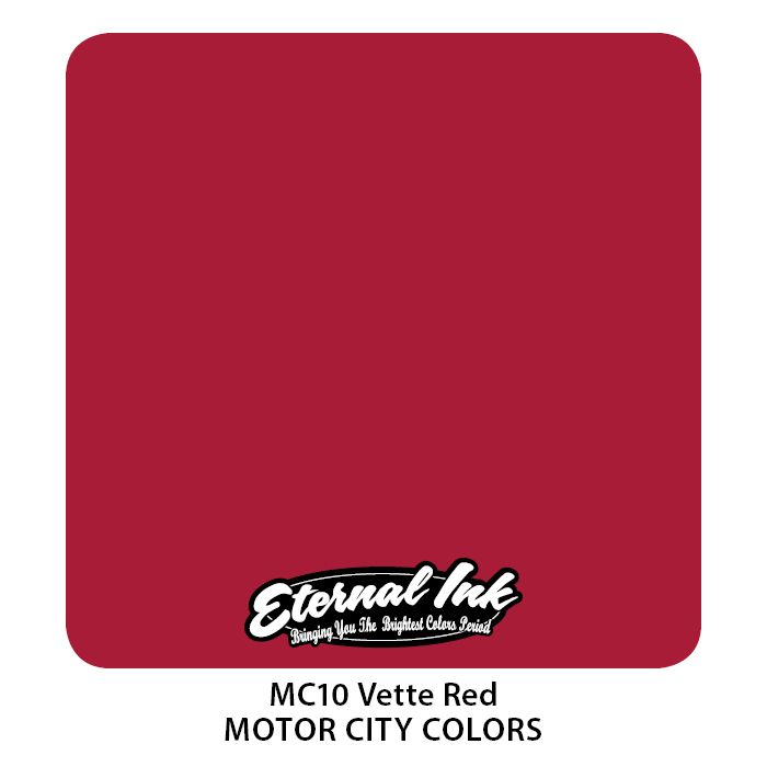 """Eternal """"Motor City"""" Vette Red"""