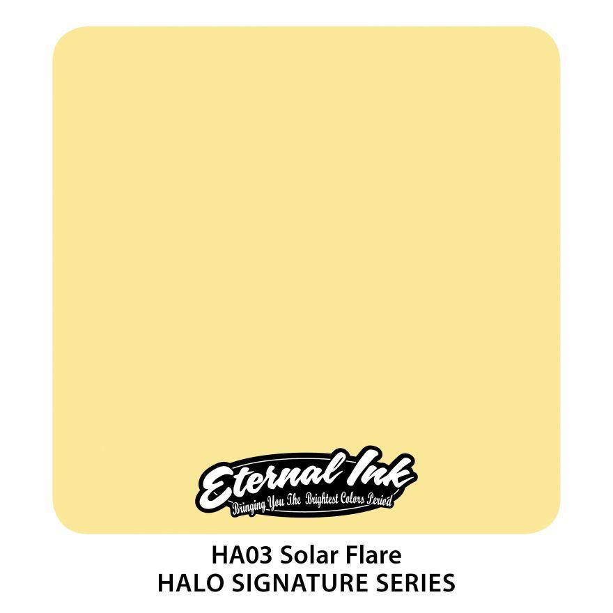 "Eternal ""Halo Fifth Dimension"" Solar Flare"