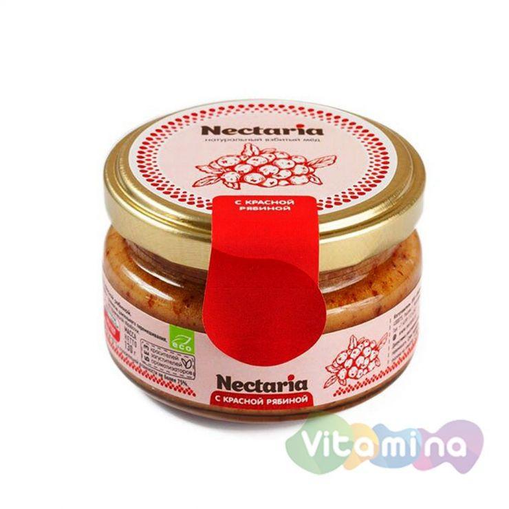 Взбитый мёд с красной рябиной