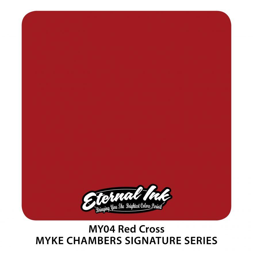 "Eternal ""Myke Chambers"" Red Cross"