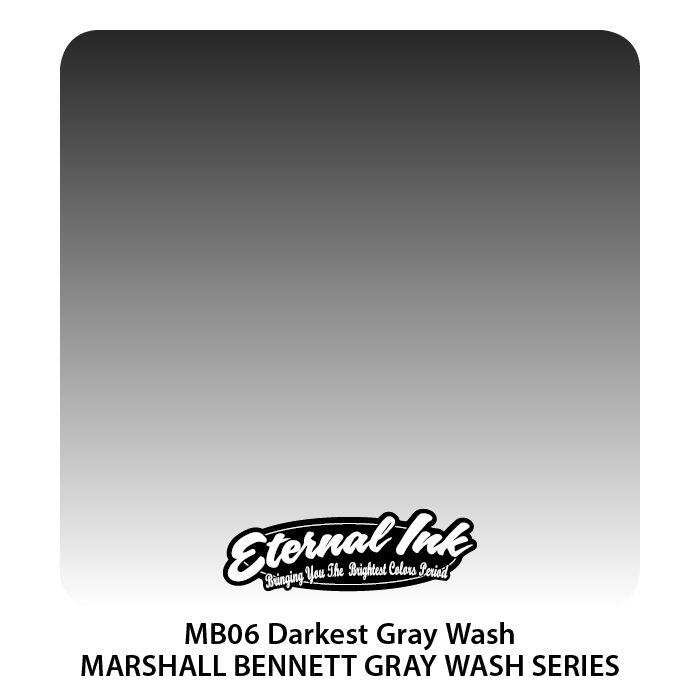 """Eternal """"Marshall Bennett"""" Darkest Gray Wash"""