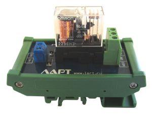 Выносной блоки реле на DIN рейку LRB-1-24V-16-A
