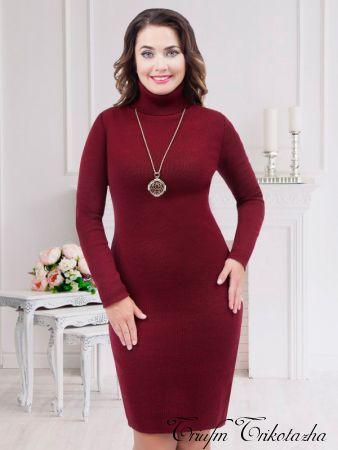 Платье Диваж (божоле)