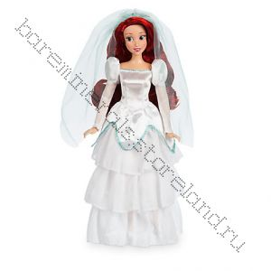 Русалочка в свадебном платье