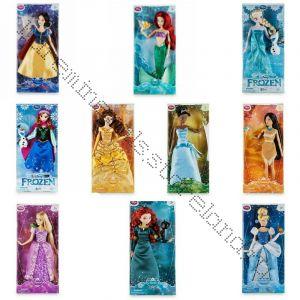 10 кукол в отдельных коробках Дисней (на выбор)