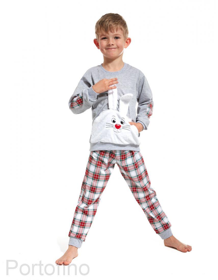 589-62 Пижама для мальчика дл.рукав Cornette