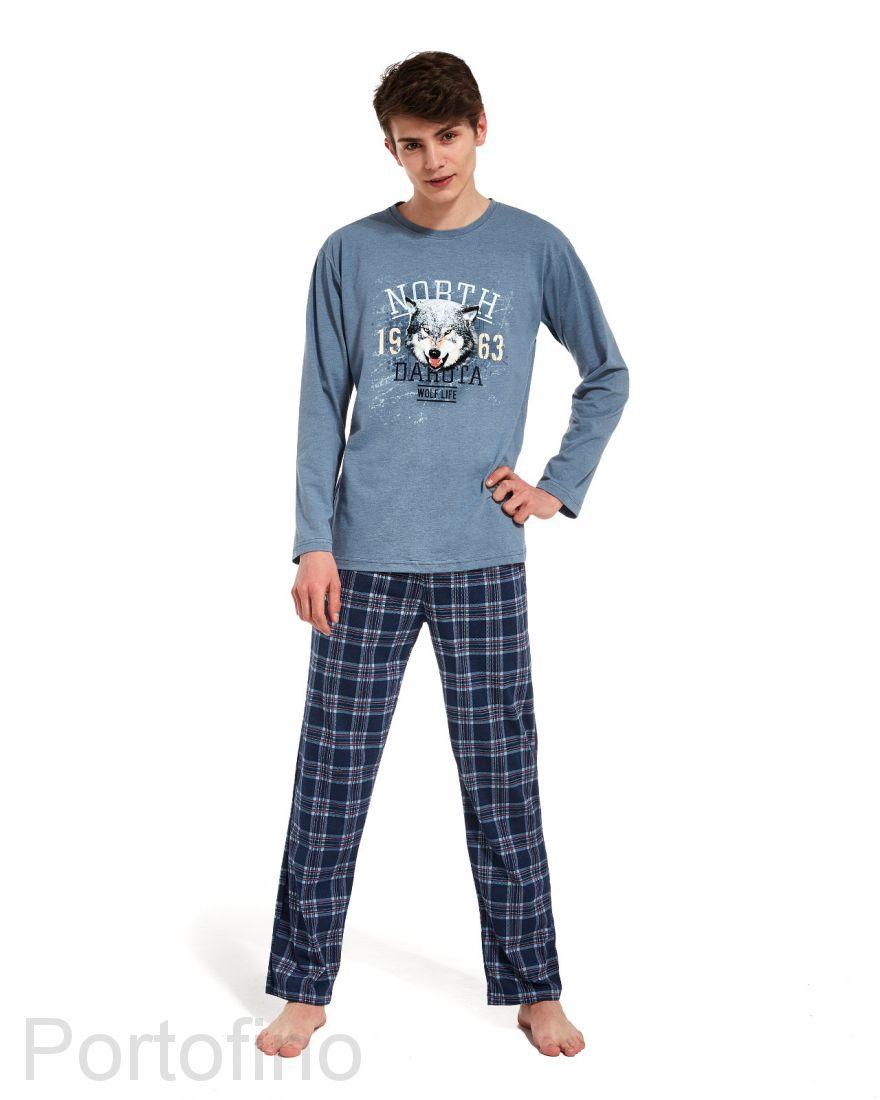 553-25 Пижама для мальчика дл.рукав Cornette