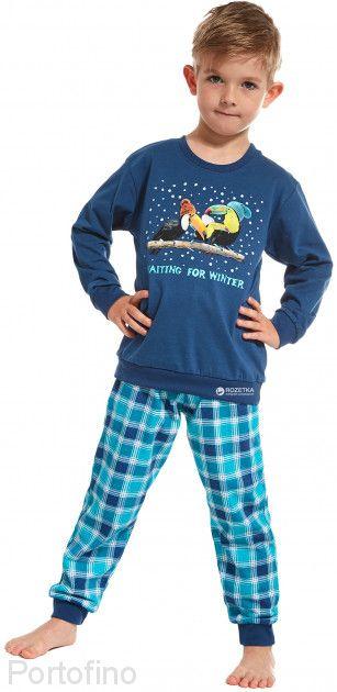 966-68 Пижама для мальчика дл.рукав Cornette