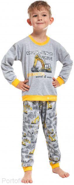 593-57 Пижама для мальчика длинный рукав Cornette
