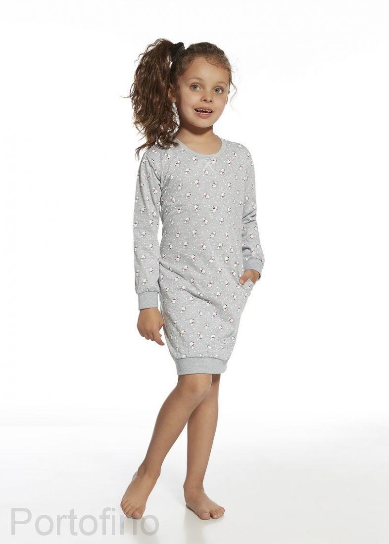 943-73 Сорочка для девочки длинный рукав Cornette