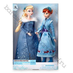Кукла Анна и Эльза в комплекте Дисней