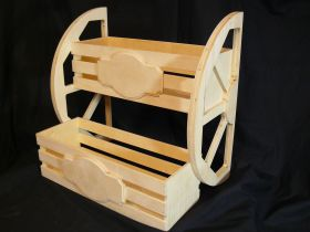 Ящик реечный с колесом
