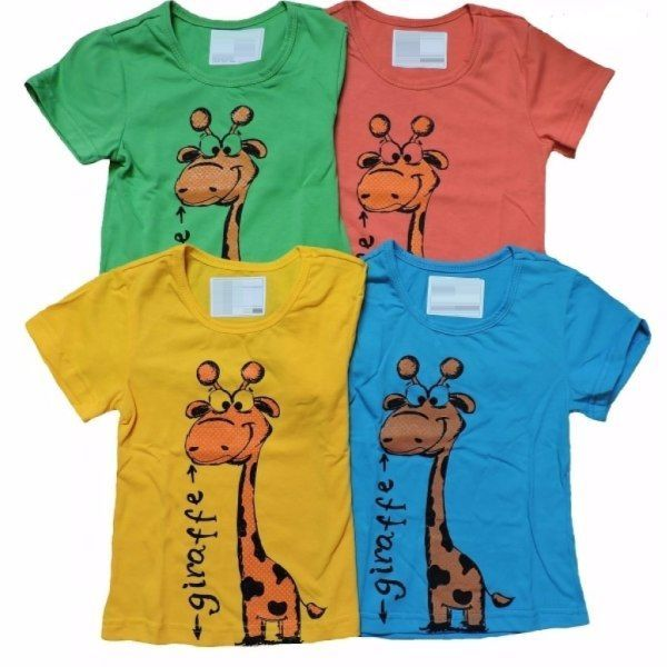 Футболка детская Giraffe Efri-Sd100 (хлопок)