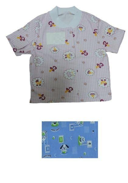 Рубашка детская с коротким рукавом Efri-Sd29 (хлопок)