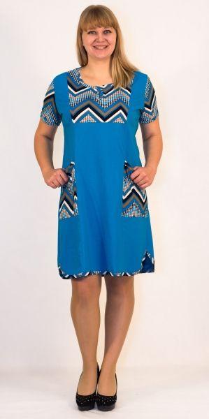 Платье женское Славянка Efri-St56 (хлопок)