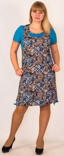 Платье женское Марта Efri-St55 (хлопок)