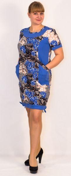 Платье женское Ева Efri-St52 (хлопок)