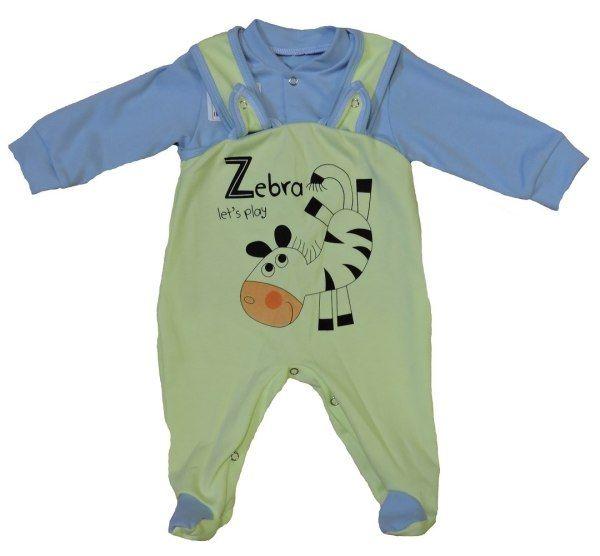 Комбинезон детский Веселая зебра Efri-Sd164и (интерлок)