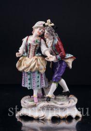 Влюбленная пара, Дрессель, Кистер и Сие (Dressel, Kister & Cie) в Пассау (Passau), Германия, 1907-20 гг., артикул 03086