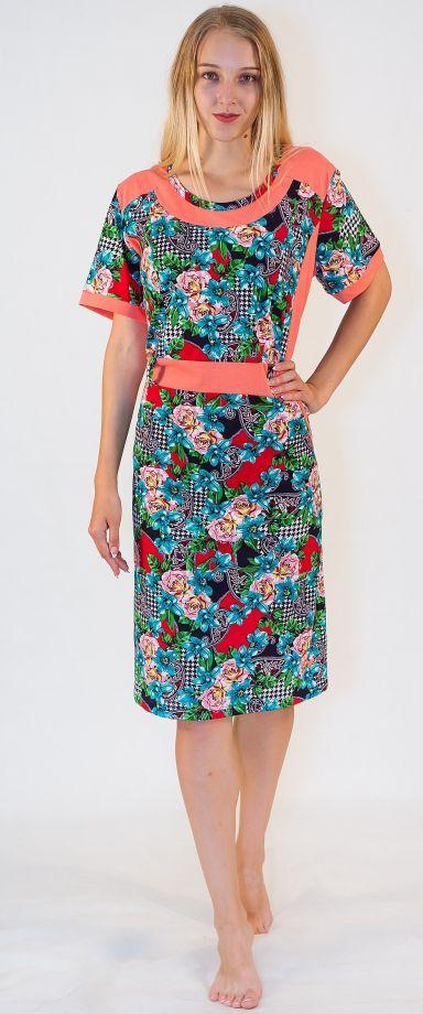 Платье женское Лора Efri-St35 (хлопок)