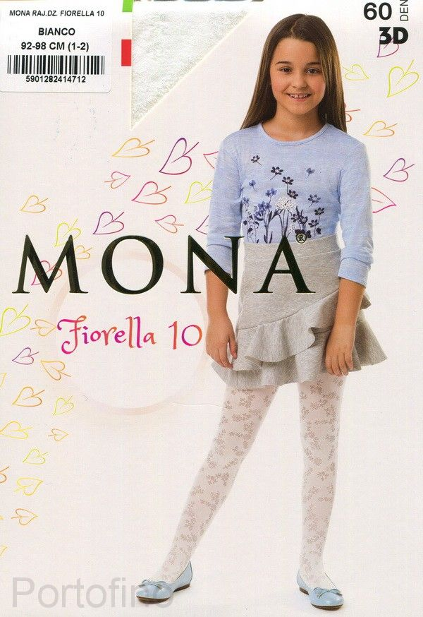Fiorella 10 детские колготки Mona 60 DEN