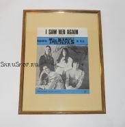 Автографы: The Mamas & the Papas. Ранний состав. 1966 год. Редкость