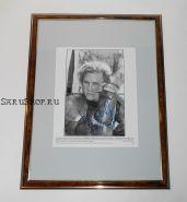 Автограф: Хит Леджер. История рыцаря. Фото 2001 года. Редкость
