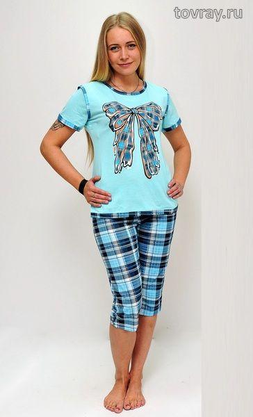 Пижама женская Бант Efri П-15