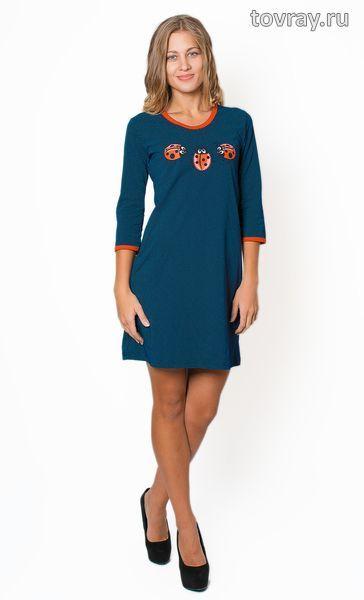 Платье женское Божьи коровки Efri Т-818