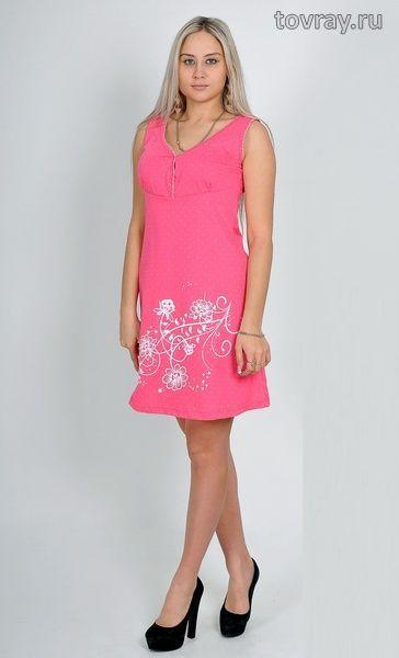 Сорочка женская Цветочная веточка Efri С25 (D2)