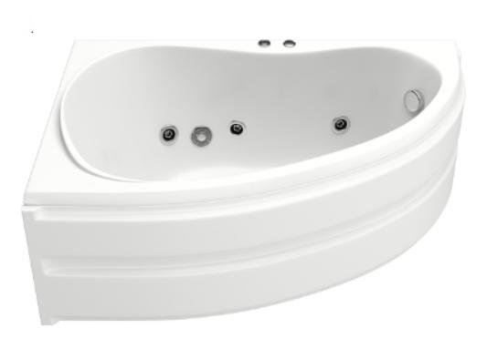 Акриловая ванна BAS  Алегра 150x90 без гидромассажа
