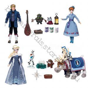 Большой подарочный набор поющих кукол FROZEN
