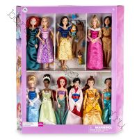 Подарочный набор из 11 кукол с одеждой для Белоснежки Дисней оригинал