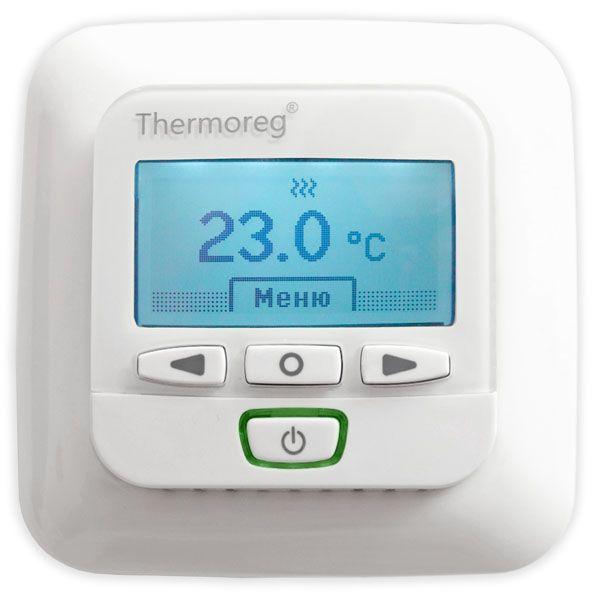 Электронный терморегулятор Thermoreg TI-950 программируемый для теплого пола купить в Екатеринбурге