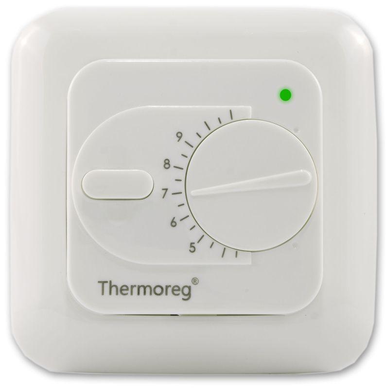Электронный терморегулятор Thermoreg TI-200 классический для теплого пола купить в Екатеринбурге