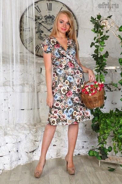 Платье женское Софья Efri-D408 (масло)